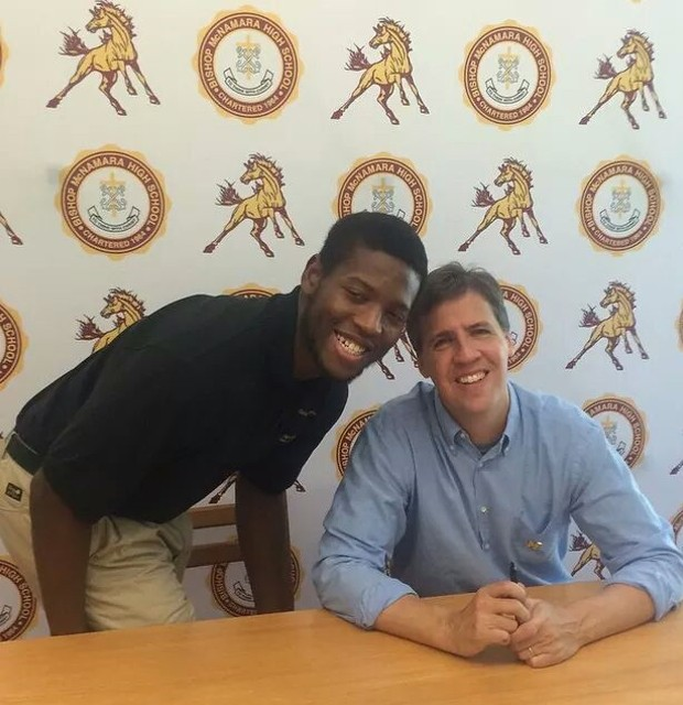 Jordan Bernard and Jeff Kinney
