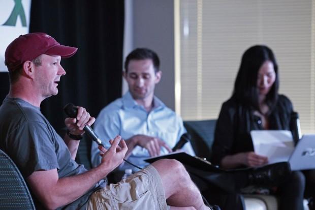 Brian Acton with Cameron Teitelman and Alexa