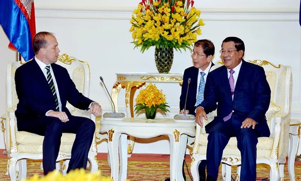 Peter Dutton With Cambodian Ministers