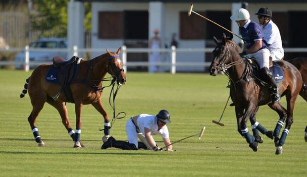 Prince Harry falls off From horse During South Africa Polo match