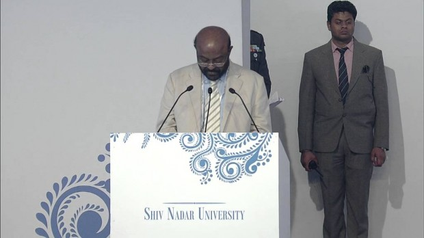 HCL Founder and CEO at Shiv Nadar University