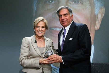 Ratn Receiving Rockefeller Foundation's Lifetime Achievement Award