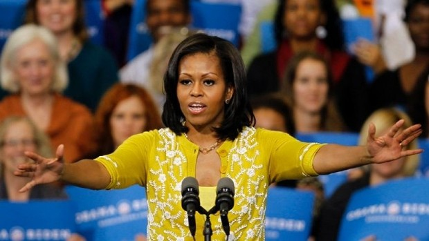 First Lady Michelle at Cuyahoga Community College