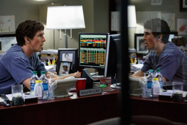 Christian Bale in The Big Short Movie