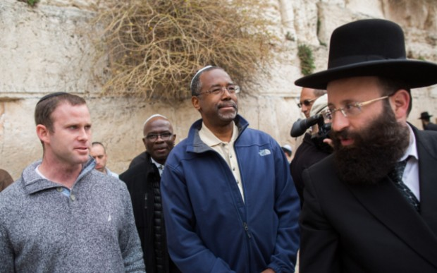 Ben at Western Wall in Jerusalem's Old City