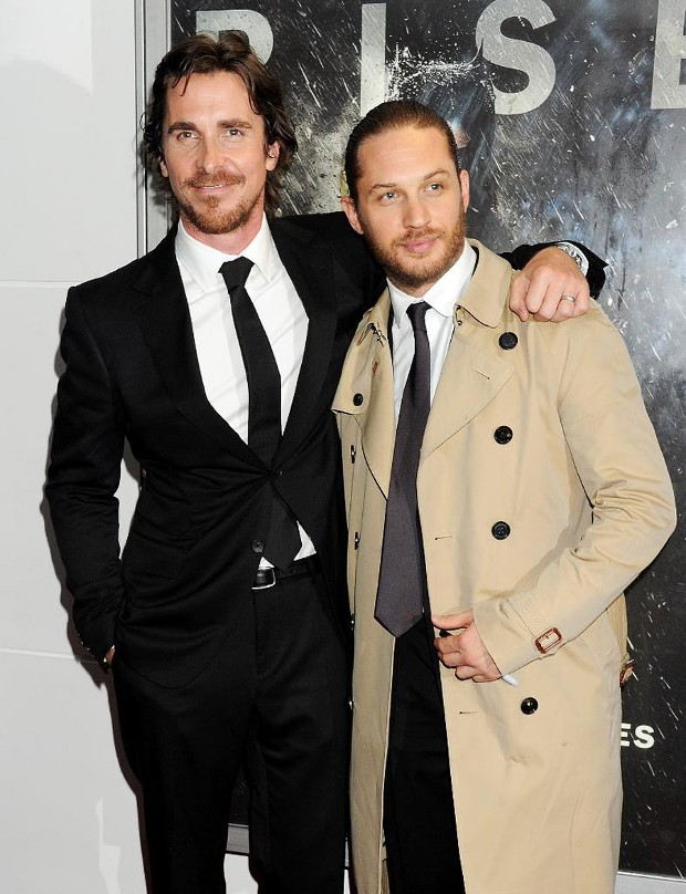 Tom Hardy With Christian Bale