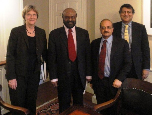 Shiv Nadar during His Harvard University Visit