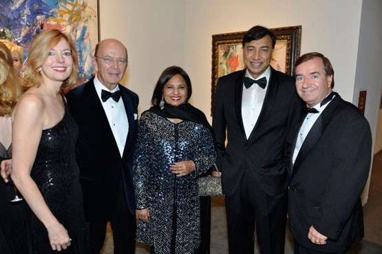 Mittal with Marie Royce Family