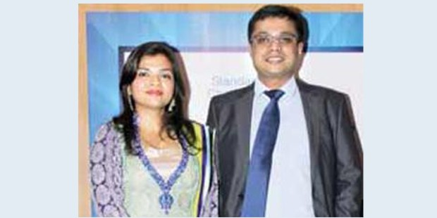 Sachin Bansal with His Wife Priya Bansal