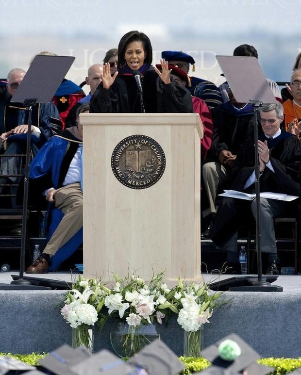 Michelle Obama Commencement Speech at the University of California
