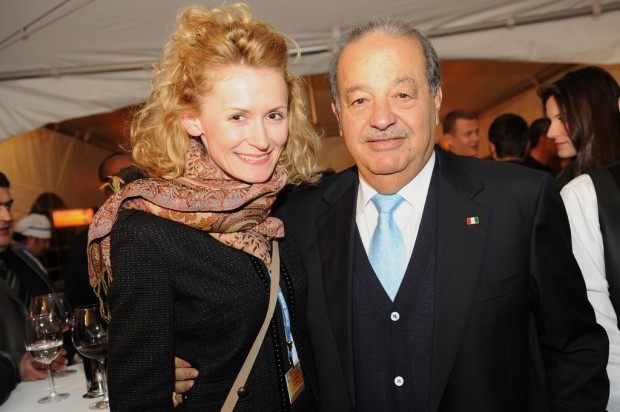 Carlos slim at Broadband Commission Meeting