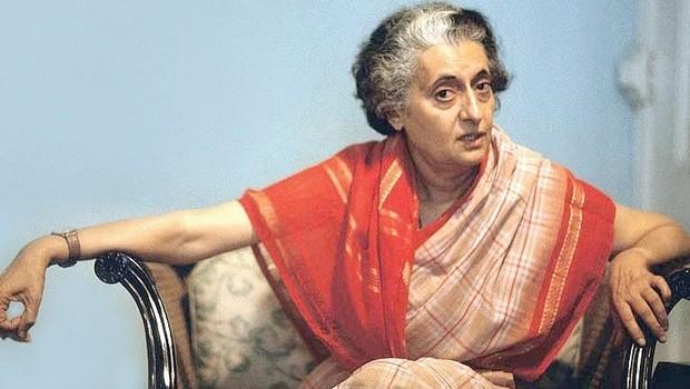Former Prime Minister of India Indira Gandhi