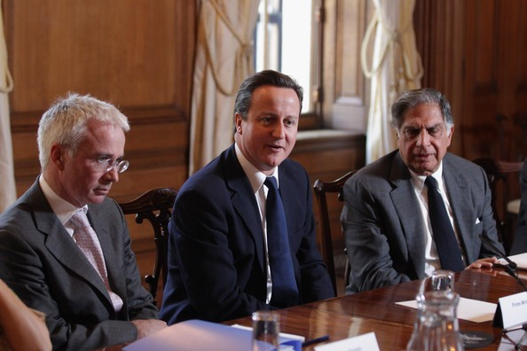 David Cameron Meets Ratan Tata
