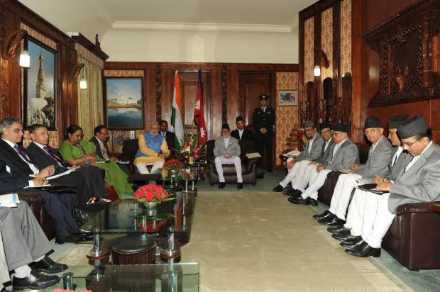 In Meeting with Nepal PM