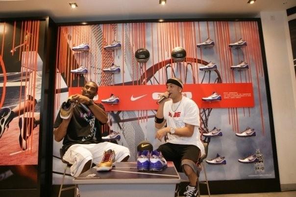 Kobe in Nike Promotion in Shanghai