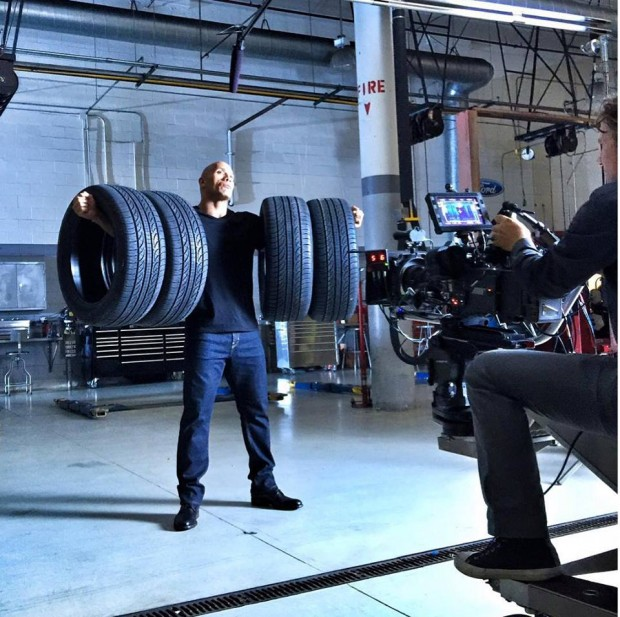 Dwayne Johnson for Ford Commercial