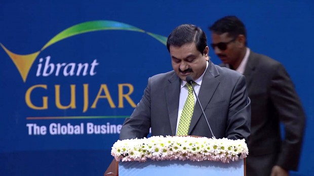 Gautam Adani at Vibrant Gujarat Summit 2013