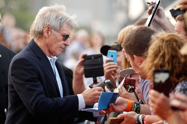 Harrison Ford Signing at Sydney Opera Hous