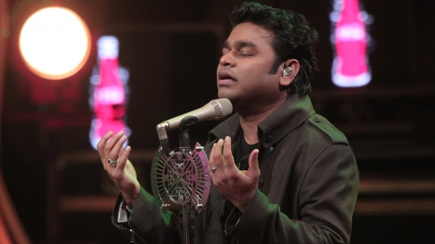 AR Rahman Singing at Coke Studio