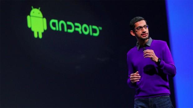 Sundar Pichai at Android Presentation
