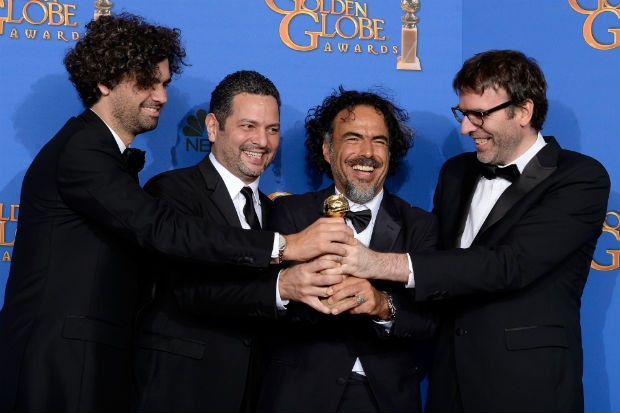 Alejandro González Iñárritu At Golden Globe Awards