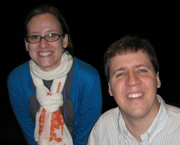 Library Lea and Jeff Kinney