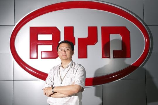 Wang Chuanfu  Founder of BYD
