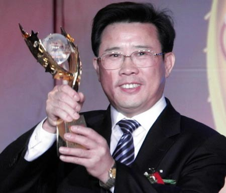 The chairman of Sany Group Liang Wengen