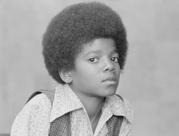 Michael as a Boy