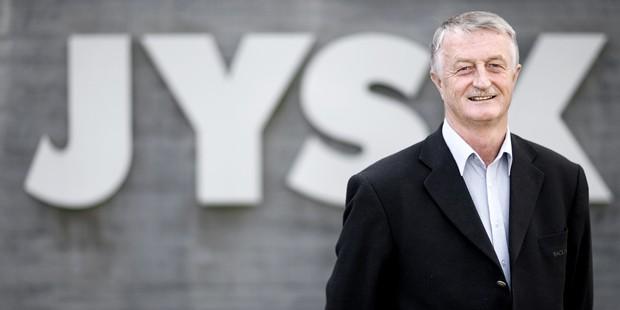 Lars Larsen, JYSK Owner