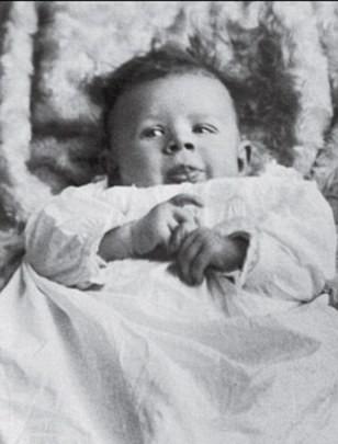 Reagan as an Infant