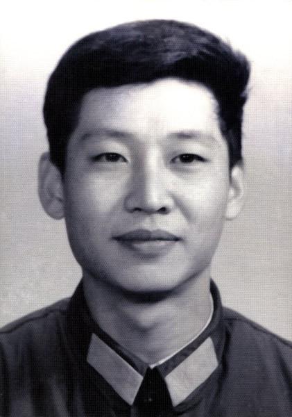 Xi Jinping young