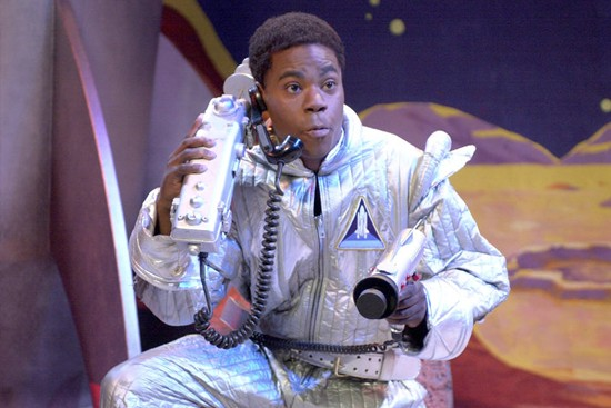 Tracy Morgan as Astronaut Jones in 2009