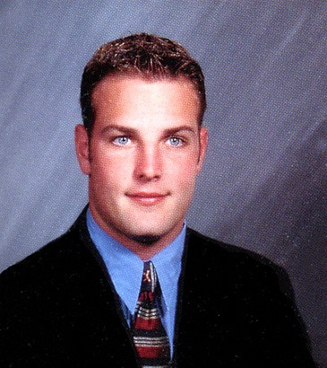 Wes Welker Yearbook Photo