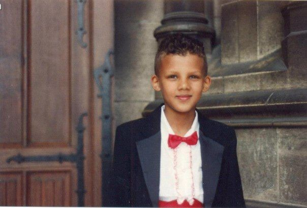 Stromae Childhood picture