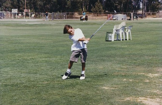 Rickie Fowler young