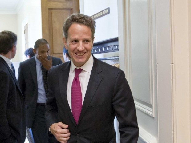 Timothy Geithner Former United States Secretary of the Treasury