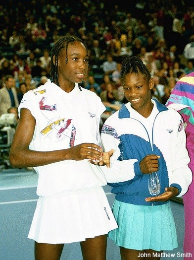 Venus Williams At First Tournament