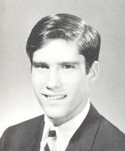 Mitt Romney senior photo 1965