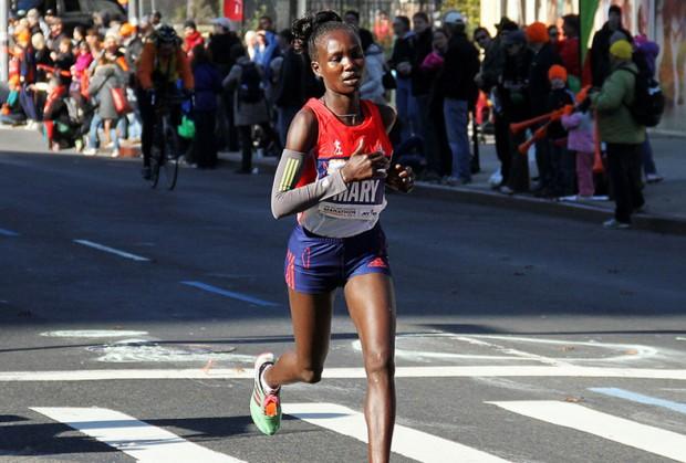 Mary Jepkosgei Keitany,  Runner from Kenya