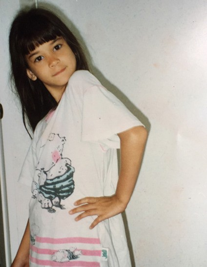 Pia Wurtzbach Childhood