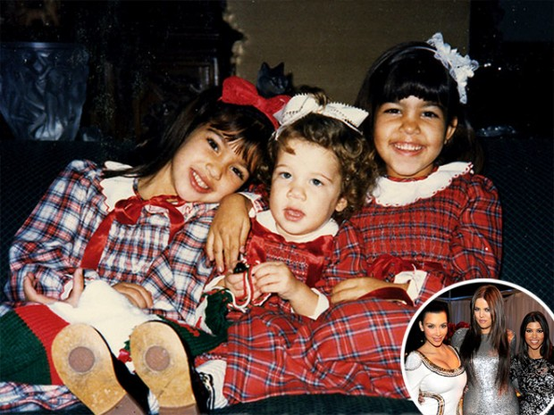 Khloe Kardashian Childhood With Sisters