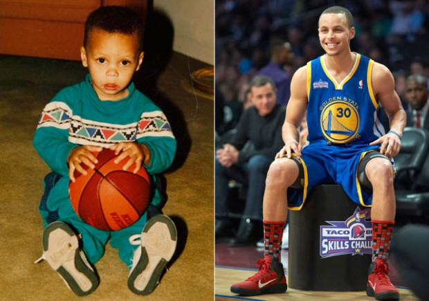 Stephen Curry Childhood
