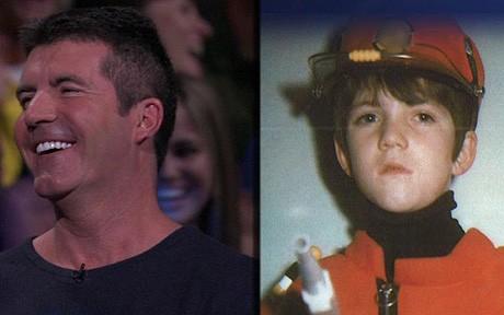 Simon Cowell Childhood