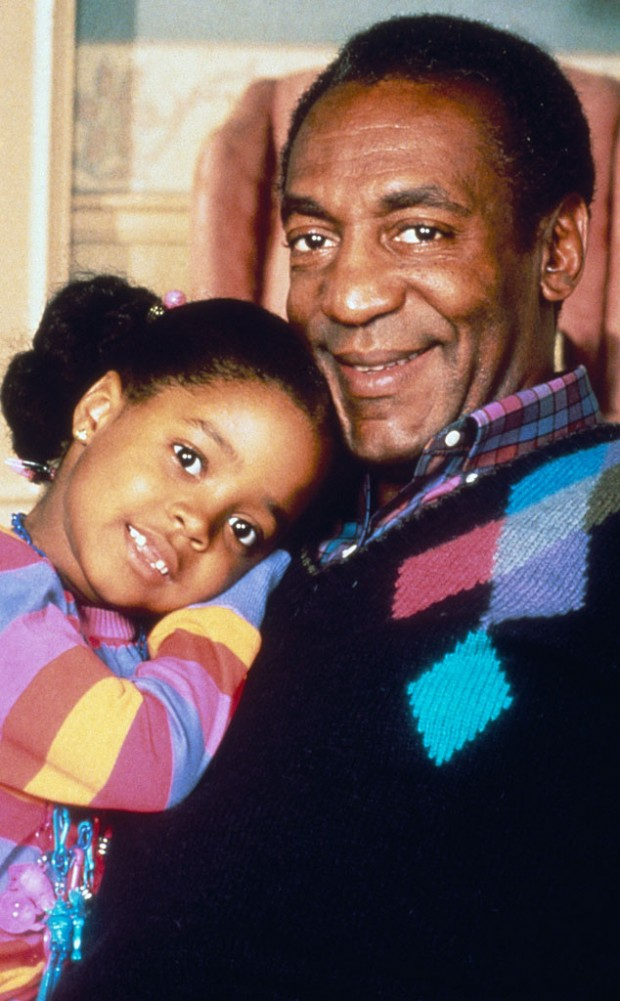 Keshia Knight Puliam childhood Photo with Bill Cosby