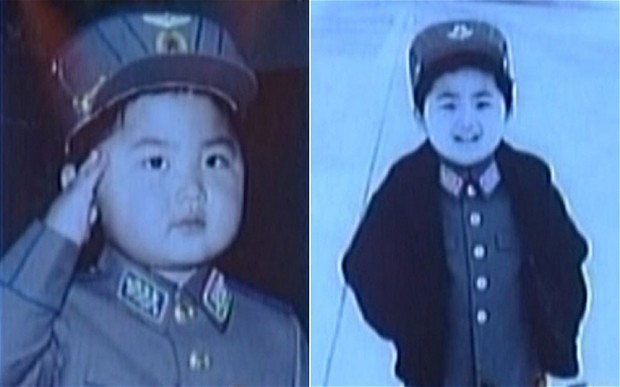 Childhood Photos of Kim Jong-un