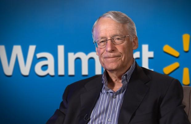 Robson Walton at Walmart