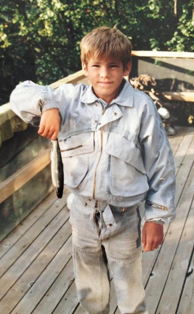 Ryan Reynolds Childhood Photo