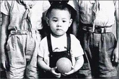 Jet Li Childhood Photo