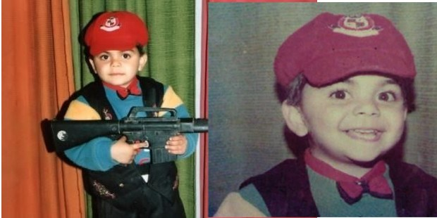 Virat Kohli in His Childhood